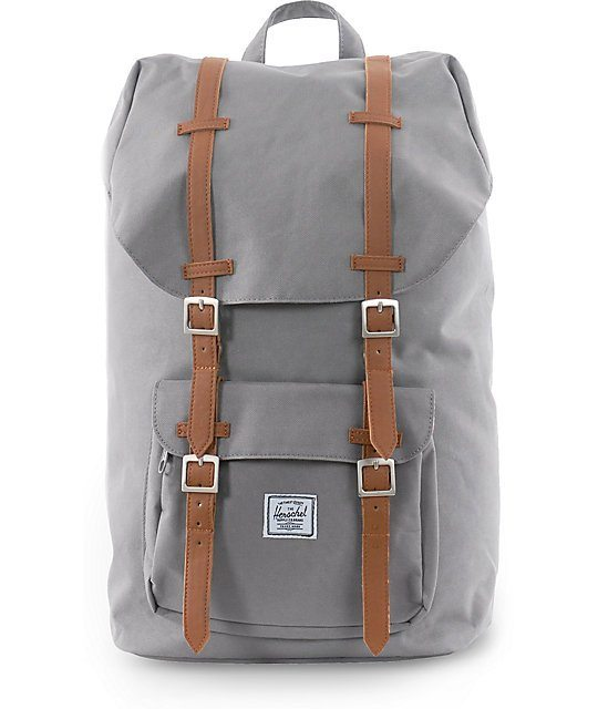 Herschel-Supply-Little-America-Grey-24L-Backpack-_188083