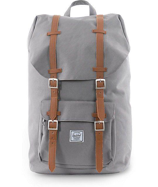 Herschel-Supply-Little-America-Grey-24L-Backpack-_188083